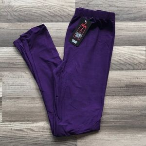 Ultra soft purple leggings NWT